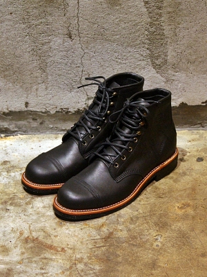 Chippewa 6 Homestead Boots - Black