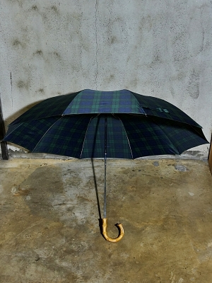 Fox Umbrellas Tel 4 - Whanghee Crook - Tartan Check