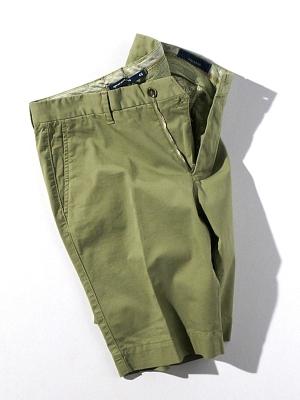 Vigano Shorts - Light Olive
