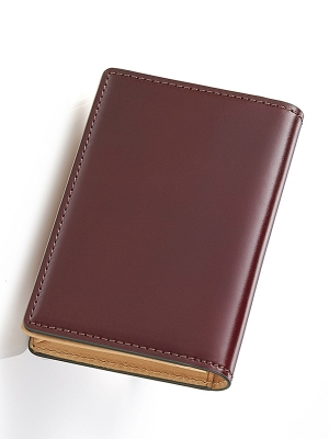 Sacco Business Card Holders - Burgandy