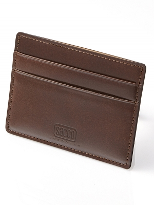 Sacco  Card Holders -Brown
