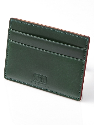 Sacco Card Holders - Green