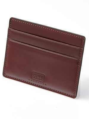 Sacco Card Holders - Burgandy