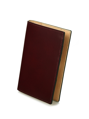 Sacco Passport Case- Burgandy