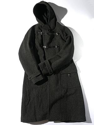 Haversack Herringbone Tweed Coat - 471733
