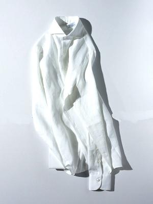 Mario Muscariello Peppino Linen - White