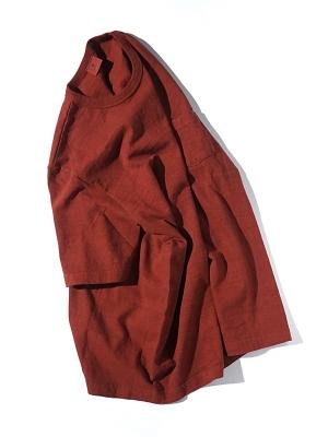 Oriental United Loopwheel T shirt - Red