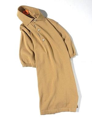 Andersen Andersen Polo Shot Sleeve -  Camel