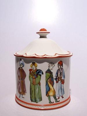 Roidulac Ceramic Candle Ottomans