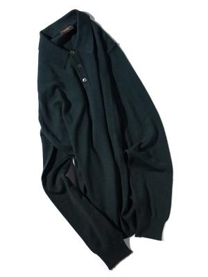 Morgano  19 518 Polo Knit  - Green