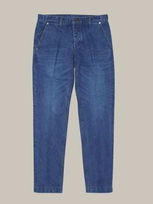 GOTT Regular Tapered Denim Marco - Medium Blue