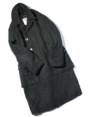 Eastlogue Officer Coat - Charcoal HB