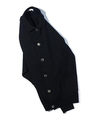 Yashiki Oboro Collar Cardigan - Black