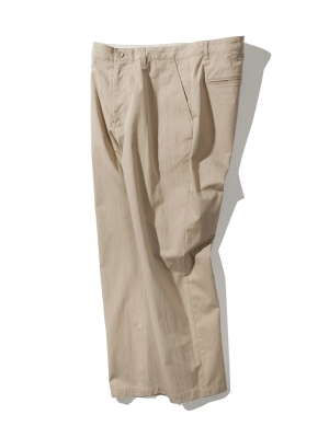Pottery Washed Tapered Pants - Beige