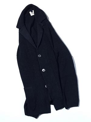 Mc Lauren Garrison Knit Jacket - Navy