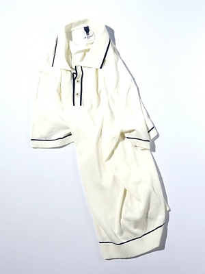 Mc Lauren Chaser Polo Knit - White