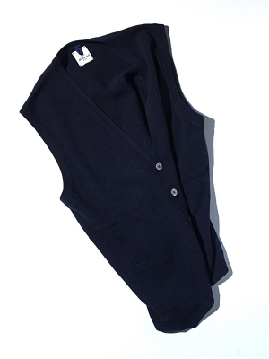 Mc Lauren Brae Knit Vest - Navy
