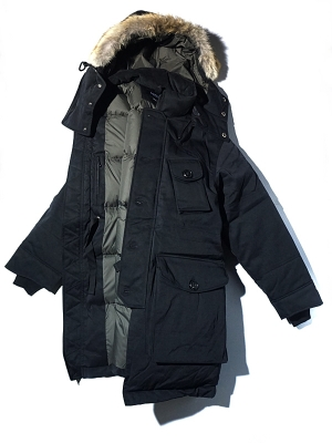 Eastlogue ECW Down Parka - Black