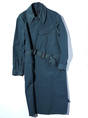 Eastlogue Dispatch Rider Coat - Blue Green