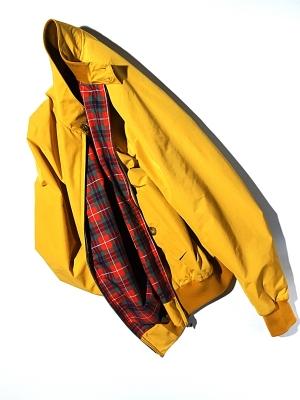 Baracuta G9 Origianl Jacket -  Empire Yellow