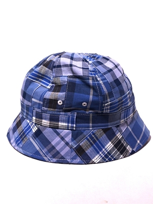 Eastlogue Bucket Hat - Blue Madras