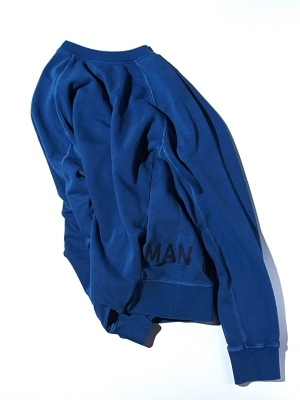 Man1924 Sweat Shirt 2066 - Blue