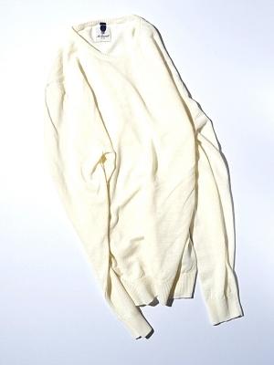 Mc Lauren Briton Round Knit - White