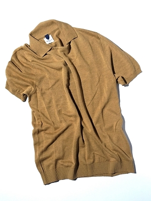 Mc Lauren Holly Polo Knit - Camel