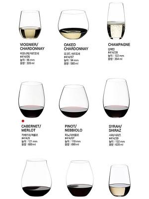 Riedel The O  Wine Glass