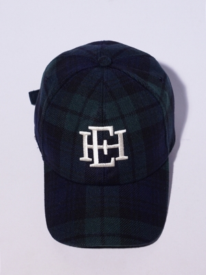 East Harbour Surplus Tiger Baseball Cap- Tartan Check