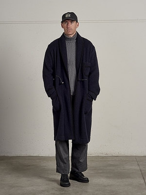 East Harbour Surplus Olden Shawl Collar Coat