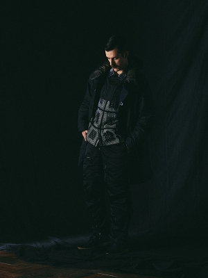 Eastlogue Cwu Coat - Black Heavy Melton