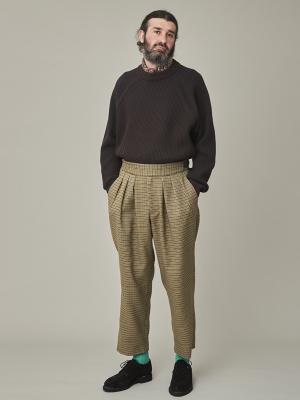 Yashiki Donten Knit - Brown