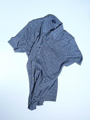 Morgano Knitted Shirts - Grey
