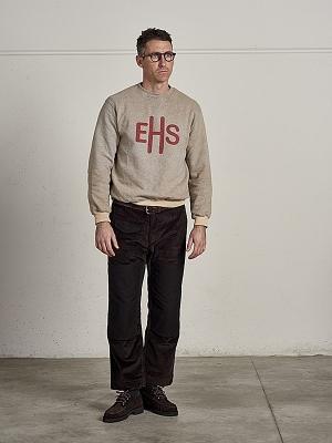 East Harbour Surplus Beatles Logo Sweatshirts-Off White