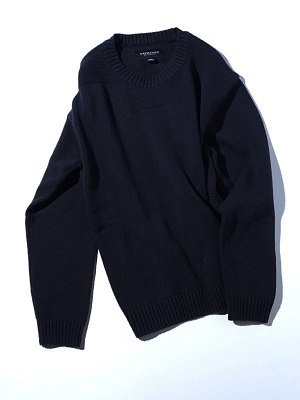 Eastlogue Square Neck Knit - Navy