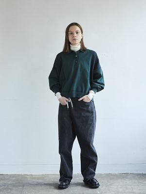 Yashiki Shuten Knit Polo - Green